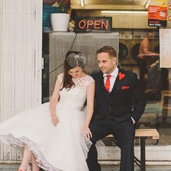 Kiri & Matt's London wedding at Islington Town Hall & The Peasant, Clerkenwell