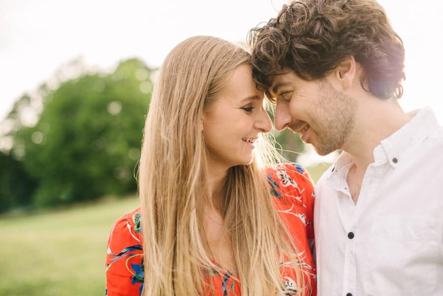 Victoria & Ian's engagement session in Alexandra Palace