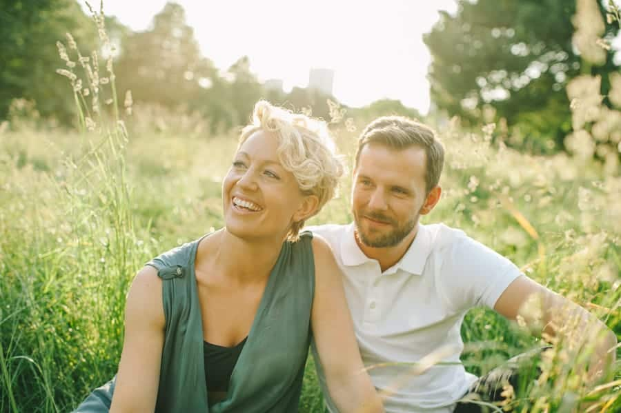 Kate & Richard's engagement session in Primrose Hill