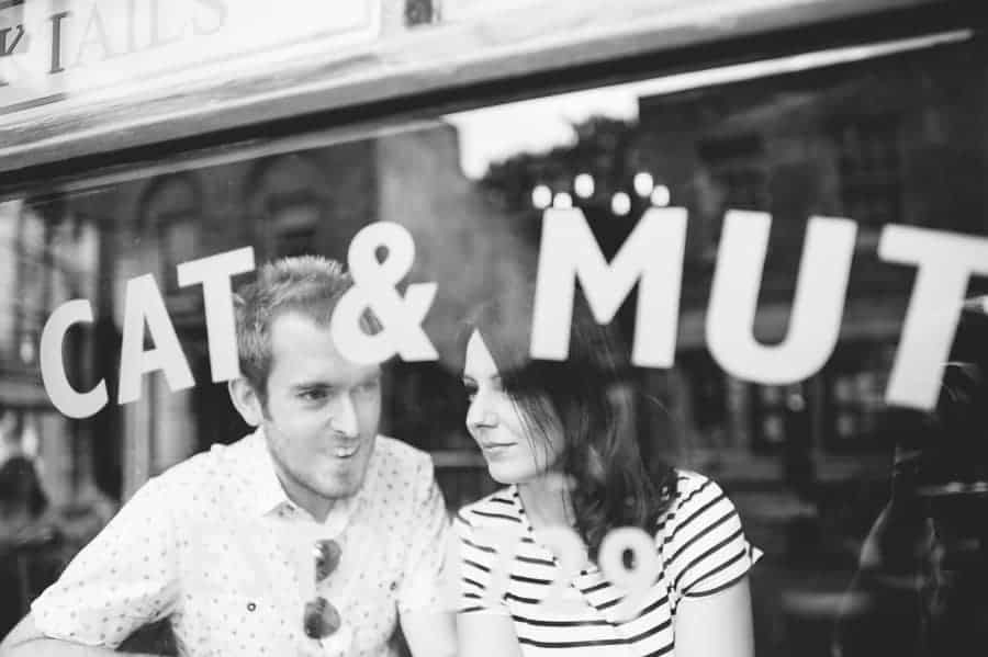 Kerry & Dom's engagement shoot in East London