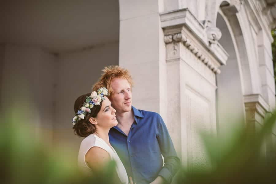 Sally-Ann & Marks' Hyde Park engagement shoot