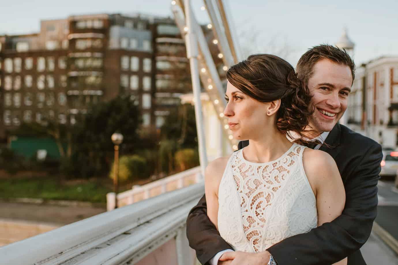 Dan & Leia's casual London wedding at Chelsea Town Hall