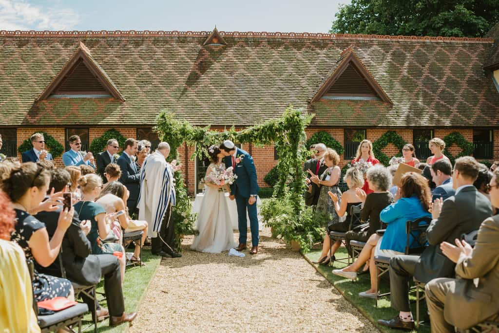 GETTING MARRIED OUTDOORS IN ENGLAND AND WALES