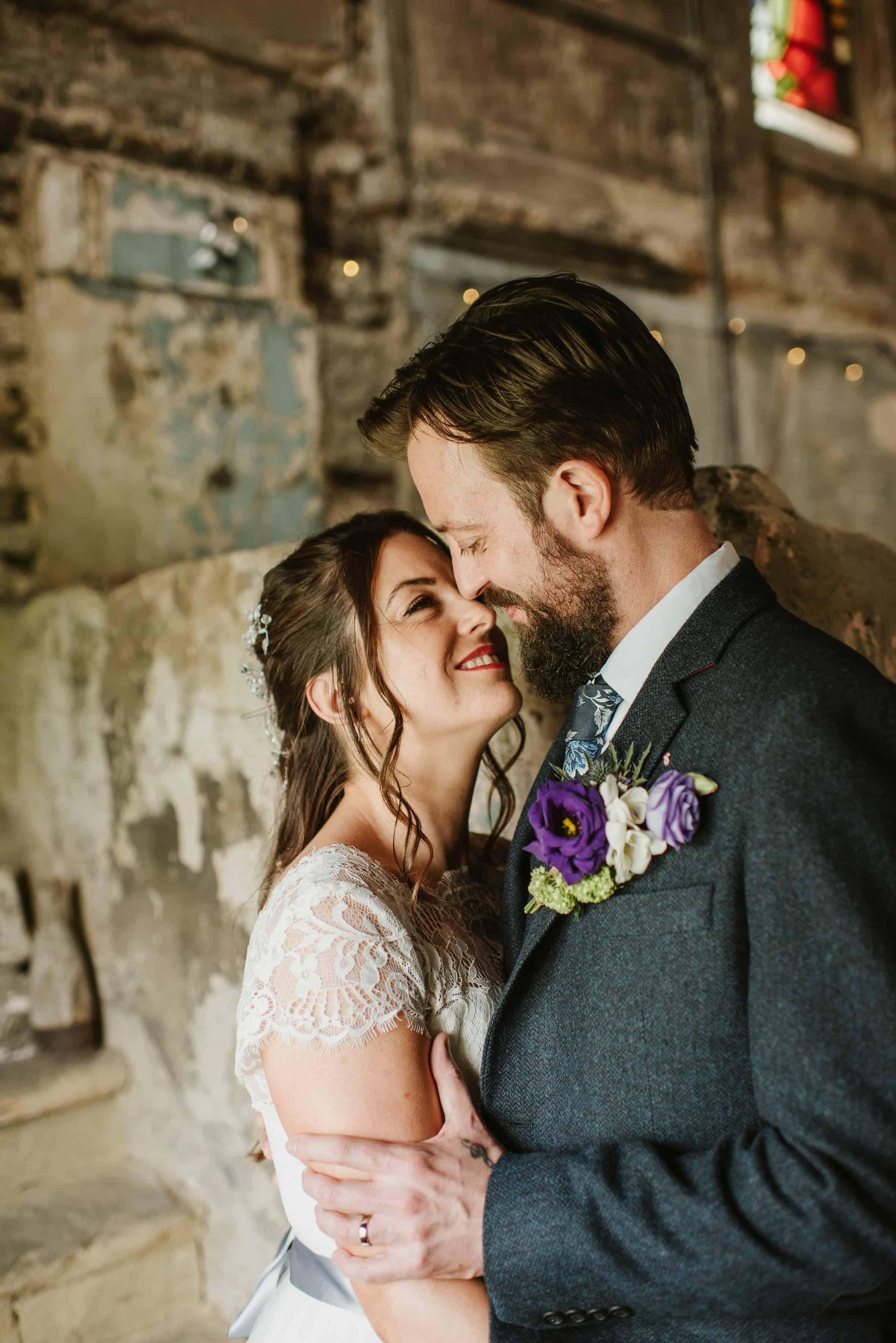 Asylum wedding photography portrait