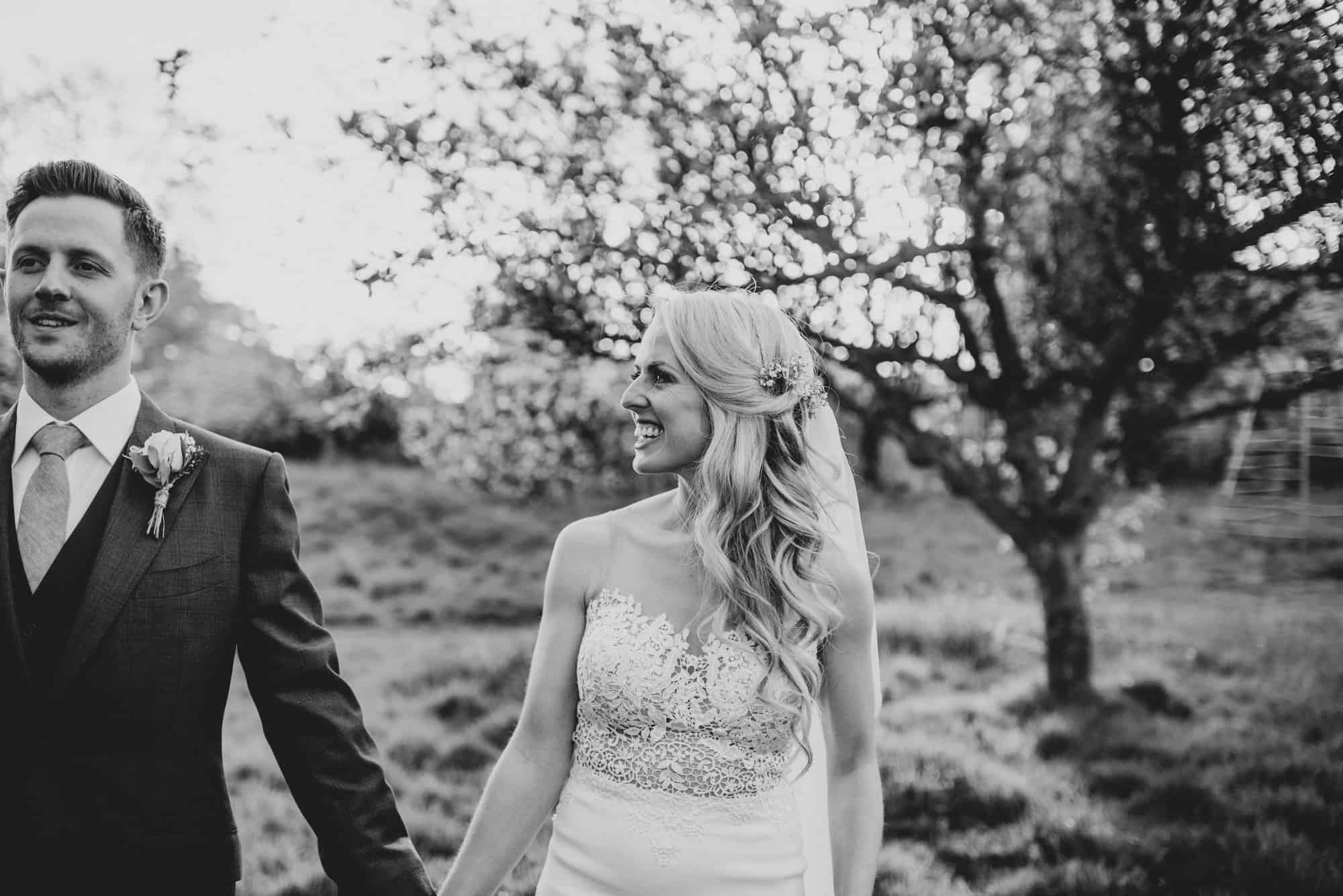 Micklefield Hall wedding photography at sunset