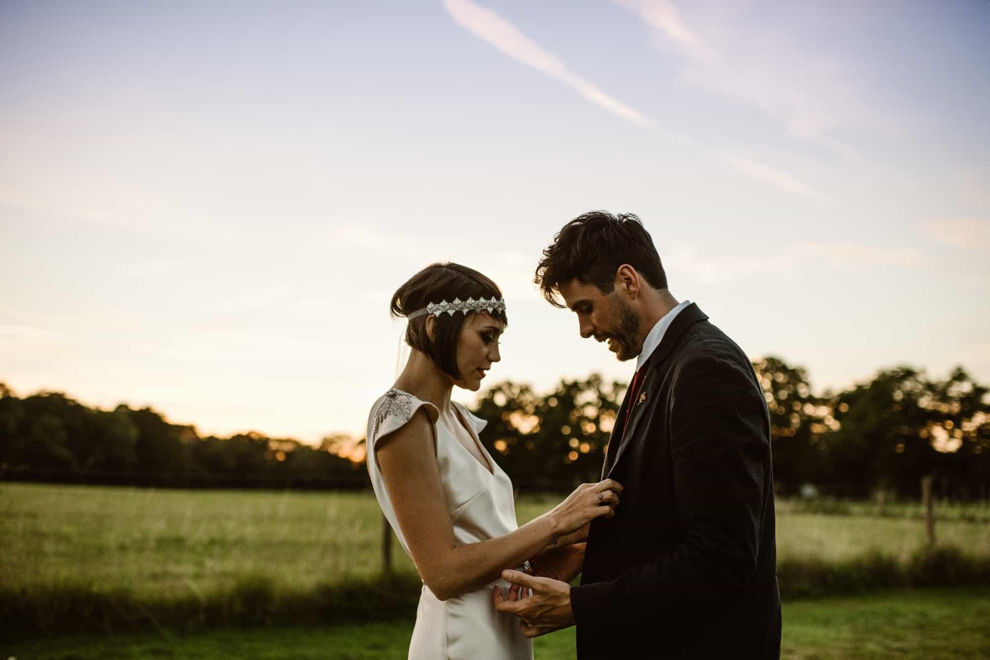 Ro & Adam - a humanist, vegan, backgarden wedding