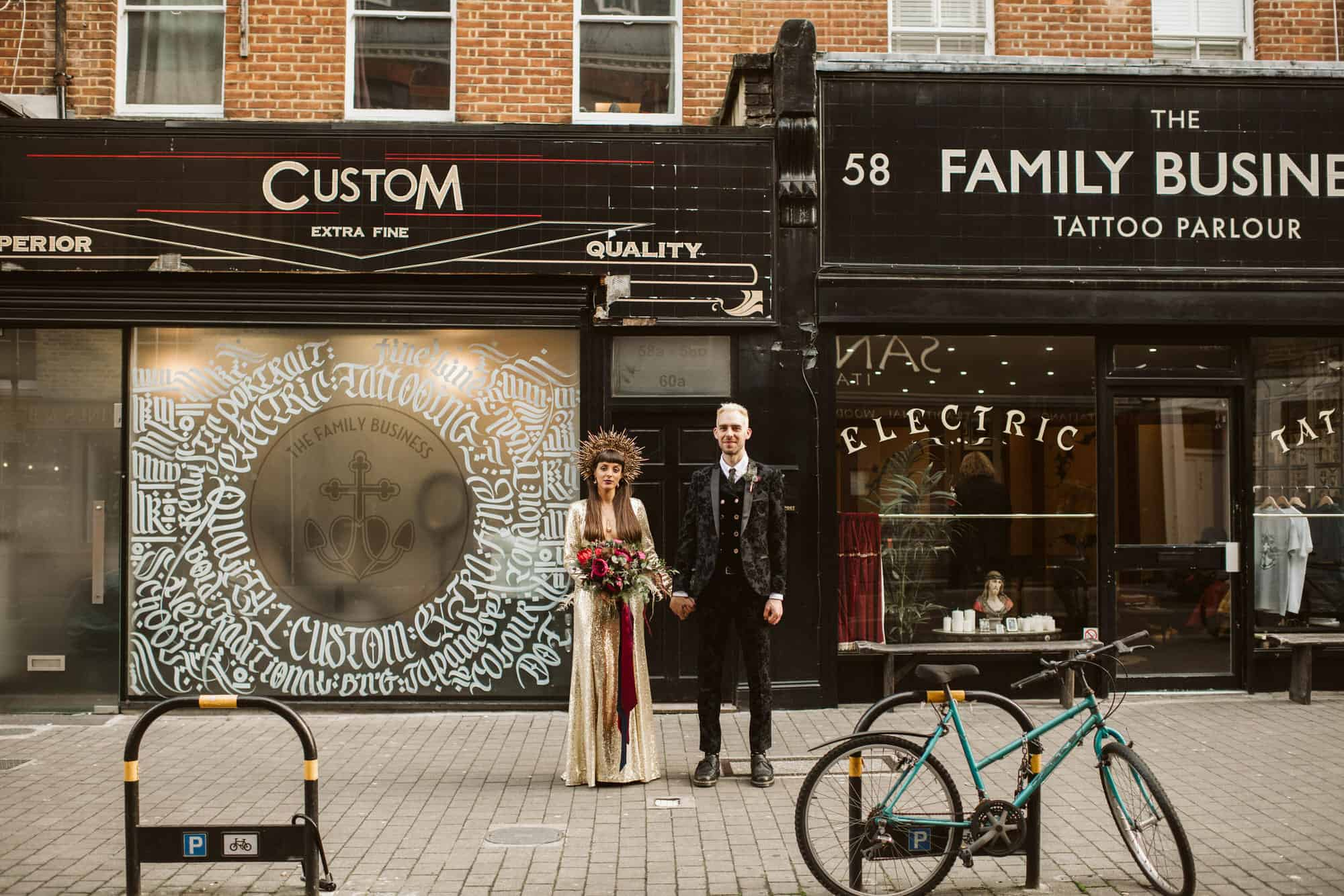 Exmouth market wedding photography