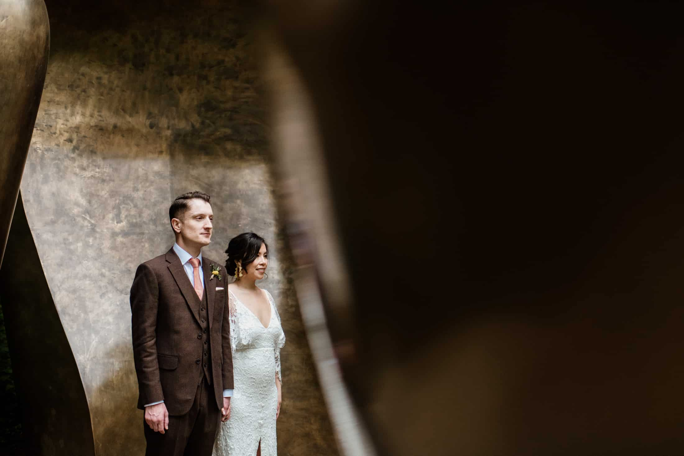 Henry Moore Foundation wedding photography