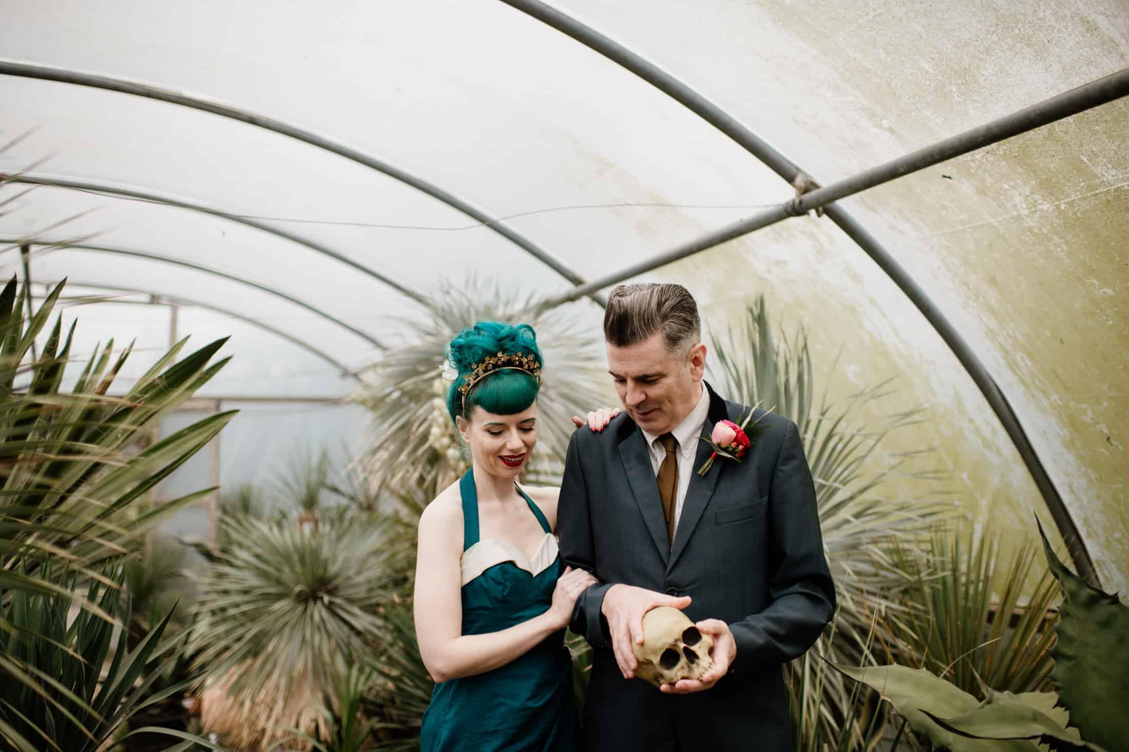 Couple shoot at Urban Jungle Norfolk